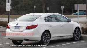 2012 Buick LaCrosse GS Spy Shot
